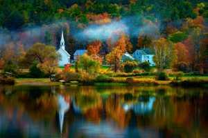 PhotoVivo Honor Mention e-certificate - Rick Mei (USA)  Little White Church