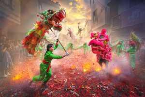 APU Gold Medal - Yuk Fung Garius Hung (Hong Kong)  Dragon And Lion Dance