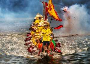 APU Spring Gold Medal - Hung Kam Yuen (Australia)  Dragon Boat Team