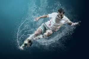 Raffles Honor Mention E-Certificate - Andrii Yurlov (Slovakia)  Football Under Water_2