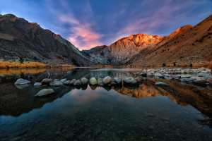 PhotoVivo Gold Medal - Shirley Trinh (USA)  Convict Lake Sunrise