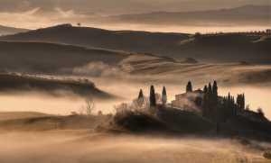 PhotoVivo Honor Mention e-certificate - Michele Macinai (Italy)  Tuscan Golden Sunrise 13