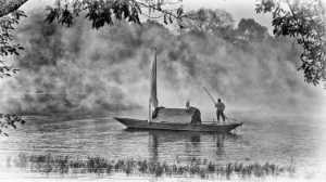 PhotoVivo Honor Mention e-certificate - Kim-Hock Tan (Singapore)  Boat In Fog Frame
