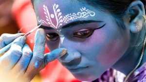 APAS Honor Mention e-certificate - Shourjendra Datta (India)  The Blue Girl
