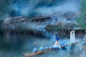 APAS Gold Medal - Yipei Hu (China)  Blue And White Dream