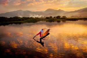 APAS Gold Medal - Hong Sang Woo (Malaysia)  One Leg Rowing 33