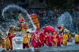 Circuit Merit Award e-certificate - Yu Lun (China)  Two Dragons Playing With Water
