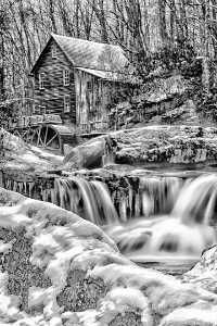 APU Honor Mention e-certificate - Ken Weaver (USA)  Grist Mill And Waterfalls