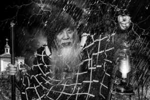 PhotoVivo Gold Medal - Win Tun Naing (Singapore)  A Man Looking For Something In The Rain