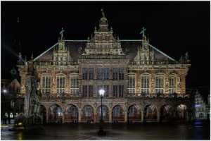 PhotoVivo Honor Mention e-certificate - Hans-Peter Hornbostel (Germany)  Bremer Rathaus
