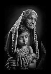 PhotoVivo Gold Medal - Sujit Sarkar (India)  Lap Of Grand Ma