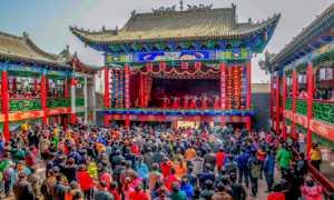 FIP Ribbon - Hong Yang (China)  Spring Festival In Old Town