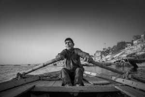 PhotoVivo Gold Medal - Xiangli Zhang (China)  Boatman