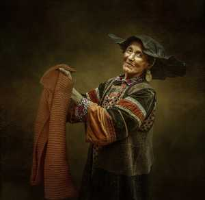 APAS Gold Medal - Juanjuan Shen (China)  Happy Yi Old People