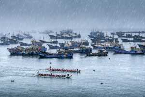 SIPC Bronze Medal - Wenguang Lu (China)  Dragon Boat Race On The Sea