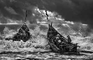 PhotoVivo Gold Medal - Tong Hu (China)  Sea Fishermen