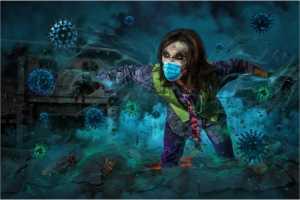 Circuit Silver Medal - Yong-Kang Teo (Singapore)  Virus Stay Away