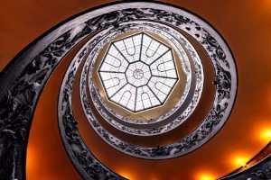 Circuit Merit Award e-certificate - Yi Sun (China)  Vatican Museum Spiral Staircase