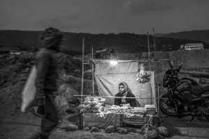 PhotoVivo Gold Medal - Lin Zhang (China)  Shadows On Bangladesh Quarry 9