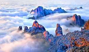 APU Honor Mention e-certificate - Jincheng Zhou (China)  Mount Huangshan Cloud Sea