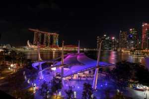 ICPE Gold Medal - Lee Eng Tan (Singapore)  Esplanade Night View 2