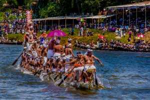 FIP Ribbon - Neelima M Reddy (India)  Kerala Snake Boat Race