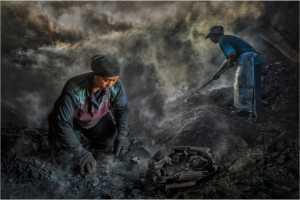 APU Gold Medal - Yong-Kang Teo (Singapore)  Charcoal Workers