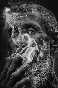 PhotoVivo Honor Mention e-certificate - Jinan Xu (China)  As Smoke Passing The Eyes