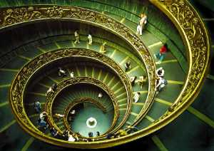 APAS Honor Mention e-certificate - Sami Ur Rahman (United Kingdom)  Vatican Staircase
