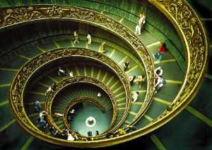 APAS Gold Medal - Sami Ur Rahman (United Kingdom)  Vatican Staircase