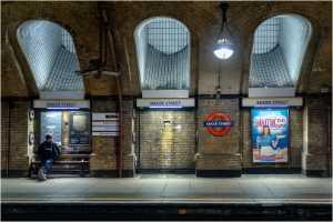 PhotoVivo Gold Medal - Terry Walters (England)  Baker Street, London Underground