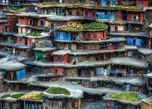 APU Gold Medal - Babak Mehrafshar (Iran)  Colorful Village