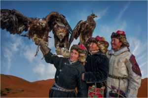 MPSA Gold Medal - Lee Eng Tan (Singapore)  Kazakh Eagle Hunters 12