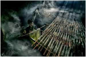 PhotoVivo Gold Medal - Thomas Lang (USA)  Noodle Workers