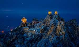 APU Winter Gold Medal - Chenglian Xu (China)  Wudang Nightscape