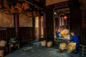 APU Honor Mention e-certificate - Jianxing Jiang (China)  Inheritance Of Bamboo Weaving