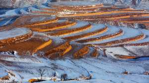 PhotoVivo Gold Medal - Xiaobin Liu (China)  Terrace with snow