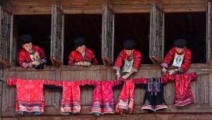 Circuit Merit Award e-certificate - Chaohong Wang (China)  Clothes Drying Woman