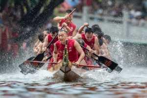Best 100 Collection - Tongchun Fan (China)  Dragon Boat