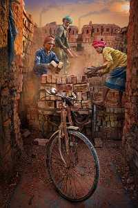 PhotoVivo Honor Mention e-certificate - Sally Leung (Hong Kong)  Brick By Brick