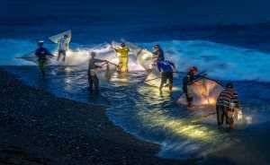 PhotoVivo Honor Mention E-Certificate - Verity Shum (Hong Kong)  Jinlun Fishermen