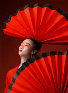 PhotoVivo Honor Mention e-certificate - Zhendong Wu (China)  Chinese Red