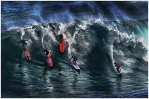 APAS Honor Mention - Thomas Lang (USA)  Hawaii Surfers