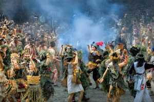 ICPE Gold Medal - Jianping Li (China)  Carnival Of Fire Sacrifice Festival