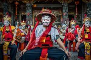 FIP Gold Medal - Ping Xu (China)  Taiwan Folk Art Eight Generals