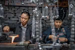 ICPE Gold Medal - Yunxing Xue (China)  Silversmith