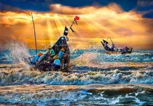 PhotoVivo Gold Medal - Tong Hu (China)  The Golden Sea