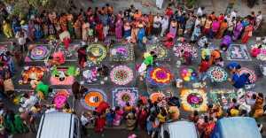 Circuit Merit Award e-certificate - Balachandder Sk (India)  Rangoli Kolam Festival 6