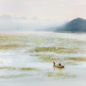 PhotoVivo Gold Medal - Xuebiao Yang (China)  Fisherman