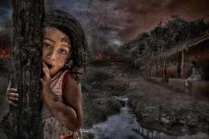 PhotoVivo Honor Mention e-certificate - Pandula Bandara (Sri Lanka)  Burning 3